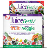 JuiceFestiv 120 Caps Natrol, Fruit Veggie Super Food