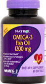 Omega 3 60 softgels, Natrol