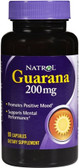 Guarana 90 Caps, Natrol, Energy