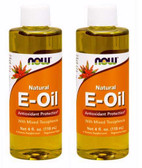 2-Pack Of 100% Natural E-Oil 4 oz (118 ml), Now Foods