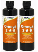 2-Pack Of Omega 3-6-9 16 oz (473 ml), Now Foods