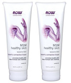 2-Pack Of Solutions MSM Healthy Skin Liposome Lotion 8 oz (237 ml), Now Foods