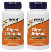 2-Pack Of Digest Ultimate 60 Vcaps, Now Foods