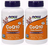 2-Pack Of CoQ10 Pure Powder 1 oz, Now Foods