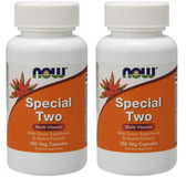 2-Pack Of Now Special Two 120 Vcaps, Now Foods, Multivitamins