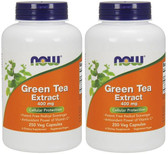 2-Pack Of Green Tea Extract 400 mg 250 Caps, Now Foods