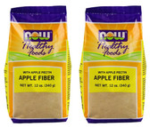 2-Pack Of  Apple Fiber 12 oz (340 g), Now Foods
