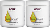 2-Pack Of Pure Lanolin 7 oz (207 ml), Now Foods, Natural Skin Care Moisturizer
