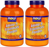 2-Pack Of Sports Amino-9 Powder 11.64 oz, Now Foods, All 9 Essential Amino Acids