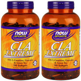 2-Pack Of Sports CLA Extreme 180 sGels, Now Foods, Supplements