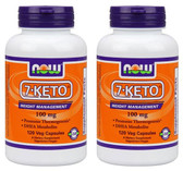 2-Pack Of 7-Keto 100 mg 120 Caps Now Foods, Anti-Aging