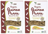 2-Pack Of Quinoa Penne Pasta GF Organic 8 oz, Now Foods