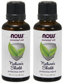 2-Pack Of Natures Shield Oil Blend 1 oz, Now Foods