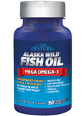 Alaska Wild Fish Oil 90 Enteric Coated sGels, 21st Century Health Care