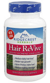 Hair ReVive 120 Caps Ridgecrest Herbals, Women's Hair Loss