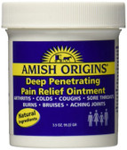 Deep Penetrating Pain Relief Ointment 3.5 oz Amish Origins, Arthritis, Joints