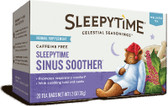 Sleepytime Sinus Soother Wellness Tea Caffeine Free 20 Tea Bags 1.2 oz (35 g), Celestial Seasonings