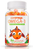 Omega-3 Gummy Fruits For Kids 60 Gummy Fruits, Coromega