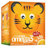 Kids Omega3 Orange 30 Squeeze Packets 2.5 g Each, Coromega
