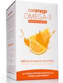 Omega-3 Orange Squeeze 90 Packets 2.5 g Each, Coromega
