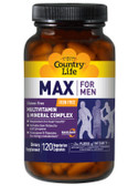 Max for Men Multivitamin & Mineral Iron-Free 120 Veggie Caps, Country Life