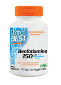 Best Benfotiamine 150 150 mg 120 Veggie Caps, Doctor's Best
