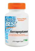 Best Serrapeptase 270 Veggie Caps, Doctor's Best