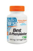 Best D-Phenylalanine 500 mg 60 Veggie Caps, Doctor's Best
