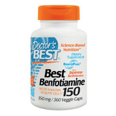 Best Benfotiamine 150 150 mg 360 Veggie Caps, Doctor's Best