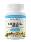 Goldenseal Herb Raw 300 mg 100 Non-GMO Veggie Caps, Eclectic Institute