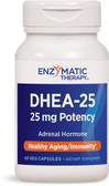 DHEA-25 60 Veggie Caps, Enzymatic Therapy