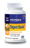 Digest Basic 30 Caps Enzymedica, Digestive Enzymes, Gas, Bloating
