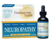 Frankincense & Myrrh Neuropathy Rubbing Oil 2 oz (59 ml), Frankincense & Myrrh