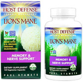 Host Defense Lion's Mane 120 Caps Fungi Perfecti, Nerve, Memory Support