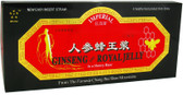 Ginseng and Royal Jelly 10 Bottles 0.34 oz (10 ml) Each, GINCO International ( Ginseng Company)