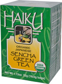Organic Japanese Sencha Green Tea 16 Bags 1.13 oz (32 g), Great Eastern Sun