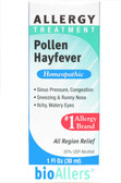 bioAllers Pollen/Hayfever Relief 1 oz Natra Bio, Itchy, Watery Eyes