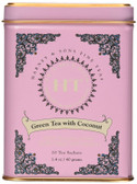 Green Tea with Coconut 20 Tea Sachets 1.4 oz (40 g), Harney & Sons
