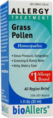 bioAllers Grass Pollen Allergy Relief 1 oz, Natra Bio
