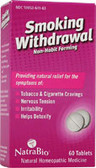Smoking Withdrawal 60 Tabs, Natra Bio