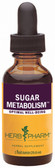 Sugar Metabolism 1 oz (30 ml), Herb Pharm