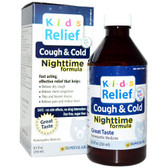 Kids Relief Cough & Cold Nighttime Formula 8.5 oz (250 ml), Homeolab USA