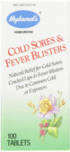 Cold Sores & Fever Blisters 100 Tabs Hylands