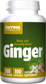 Ginger 4:1 Concentrate 500 mg 100 Caps, Jarrow