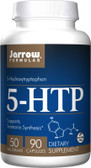 5-HTP 5-Hydroxytryptophan 50 mg 90 Caps, Jarrow