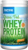 Grass Fed Whey Protein Unflavored 12.7 oz (360 g), Jarrow