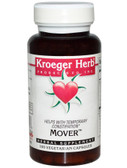 Mover 100 vCaps Kroeger Herb Co, Constipation, Gas, Bloating