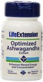 Optimized Ashwagandha Extract 60 Veggie Caps, Life Extension