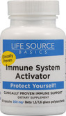 Immune System Activator 500 mg 60 Caps, Life Source Basics (WGP Beta Glucan)