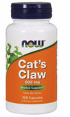 Now Foods Cat's Claw 500 mg 100 Caps, Immune Support